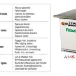A16S - lepilo granulat